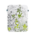 Floral Pattern Background  Apple iPad 2/3/4 Protective Soft Cases Front