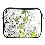 Floral Pattern Background  Apple iPad 2/3/4 Zipper Cases Front