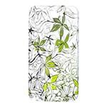 Floral Pattern Background  Samsung Note 2 N7100 Hardshell Back Case Front