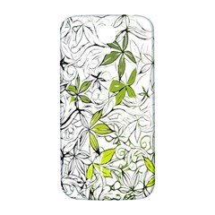 Floral Pattern Background  Samsung Galaxy S4 I9500/I9505  Hardshell Back Case