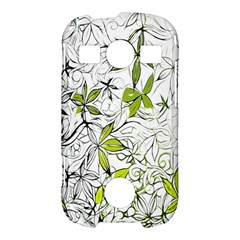 Floral Pattern Background  Samsung Galaxy S7710 Xcover 2 Hardshell Case