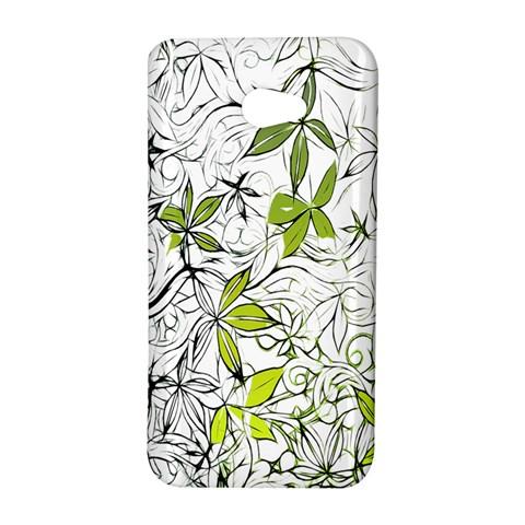 Floral Pattern Background  HTC Butterfly S/HTC 9060 Hardshell Case