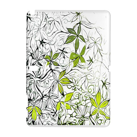 Floral Pattern Background  Samsung Galaxy Note 10.1 (P600) Hardshell Case