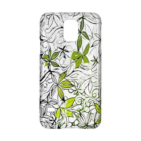 Floral Pattern Background  Samsung Galaxy S5 Hardshell Case