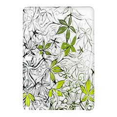 Floral Pattern Background  Samsung Galaxy Tab Pro 10.1 Hardshell Case