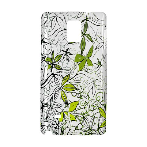 Floral Pattern Background  Samsung Galaxy Note 4 Hardshell Case