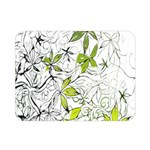 Floral Pattern Background  Double Sided Flano Blanket (Mini)  35 x27 Blanket Front
