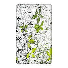 Floral Pattern Background  Samsung Galaxy Tab S (8.4 ) Hardshell Case