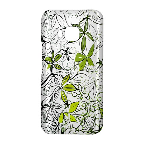 Floral Pattern Background  HTC One M9 Hardshell Case