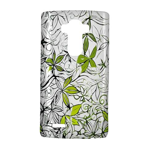 Floral Pattern Background  LG G4 Hardshell Case