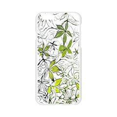 Floral Pattern Background  Apple Seamless iPhone 6/6S Case (Transparent)