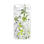 Floral Pattern Background  Apple Seamless iPhone 6/6S Case (Transparent) Front