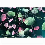 Modern Green And Pink Leaves Collage Prints 18 x12 Print - 5