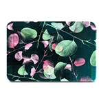 Modern Green And Pink Leaves Plate Mats 18 x12 Plate Mat - 1