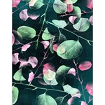 Modern Green And Pink Leaves Large Memo Pads 4.125 x5.5  Memopad