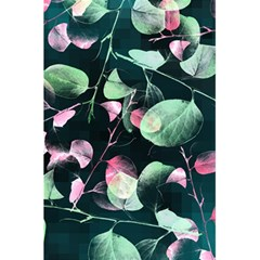 Modern Green And Pink Leaves 5 5  X 8 5  Notebooks