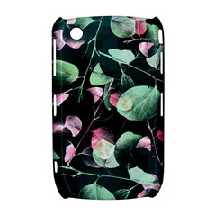 Modern Green And Pink Leaves Curve 8520 9300