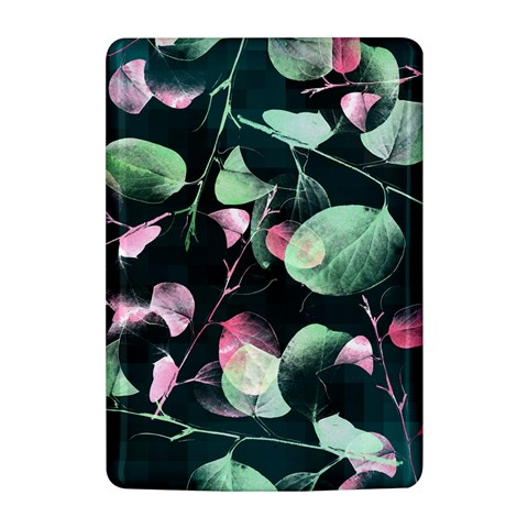 Modern Green And Pink Leaves Kindle 4