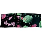 Modern Green And Pink Leaves Body Pillow Case (Dakimakura) Body Pillow Case