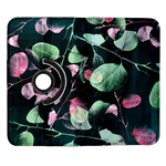 Modern Green And Pink Leaves Samsung Galaxy Note II Flip 360 Case Front