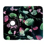 Modern Green And Pink Leaves Samsung Galaxy S  III Flip 360 Case Front