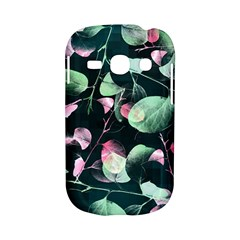 Modern Green And Pink Leaves Samsung Galaxy S6810 Hardshell Case