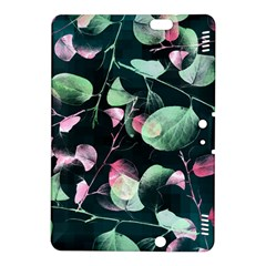 Modern Green And Pink Leaves Kindle Fire Hdx 8 9  Hardshell Case
