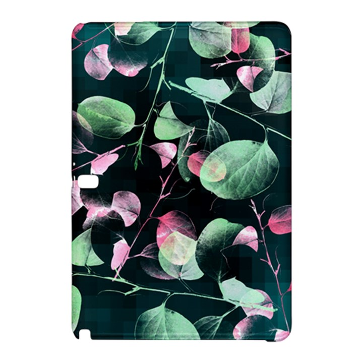 Modern Green And Pink Leaves Samsung Galaxy Tab Pro 10.1 Hardshell Case