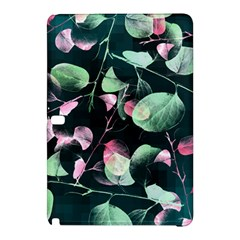 Modern Green And Pink Leaves Samsung Galaxy Tab Pro 12.2 Hardshell Case