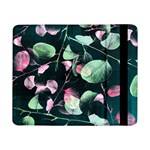 Modern Green And Pink Leaves Samsung Galaxy Tab Pro 8.4  Flip Case Front