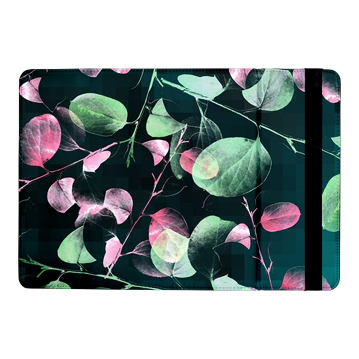 Modern Green And Pink Leaves Samsung Galaxy Tab Pro 10.1  Flip Case