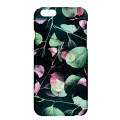 Modern Green And Pink Leaves Apple iPhone 6 Plus/6S Plus Hardshell Case