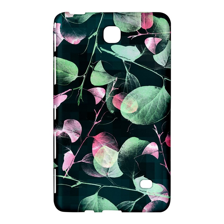 Modern Green And Pink Leaves Samsung Galaxy Tab 4 (8 ) Hardshell Case