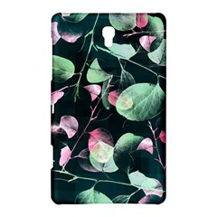 Modern Green And Pink Leaves Samsung Galaxy Tab S (8 4 ) Hardshell Case