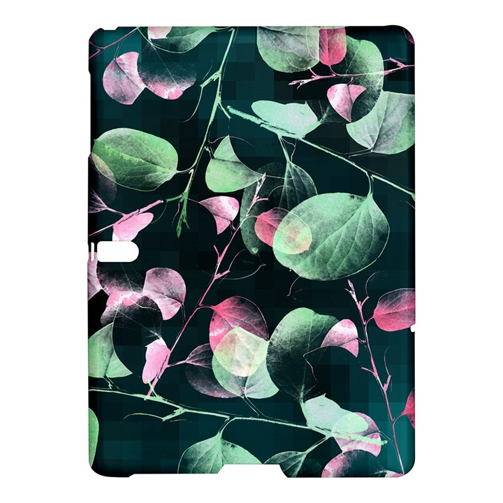 Modern Green And Pink Leaves Samsung Galaxy Tab S (10.5 ) Hardshell Case