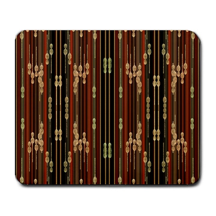 Floral Strings Pattern  Large Mousepads