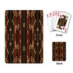 Floral Strings Pattern  Playing Card Back