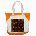 Floral Strings Pattern  Accent Tote Bag Front