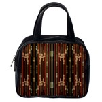 Floral Strings Pattern  Classic Handbags (One Side) Front