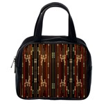 Floral Strings Pattern  Classic Handbags (2 Sides) Back