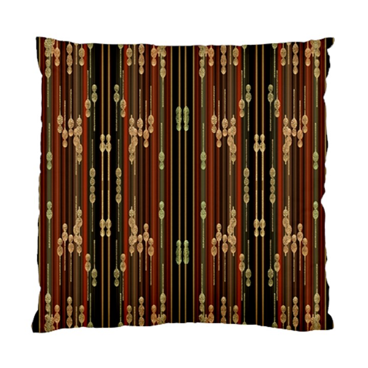 Floral Strings Pattern  Standard Cushion Case (One Side)