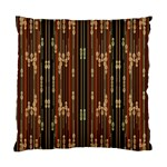 Floral Strings Pattern  Standard Cushion Case (Two Sides) Front