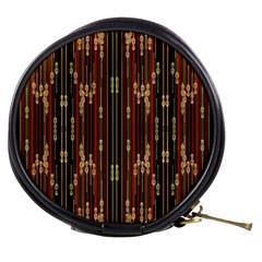 Floral Strings Pattern  Mini Makeup Bags