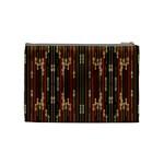 Floral Strings Pattern  Cosmetic Bag (Medium)  Back