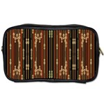 Floral Strings Pattern  Toiletries Bags 2-Side Front