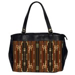 Floral Strings Pattern  Office Handbags (2 Sides)  Front