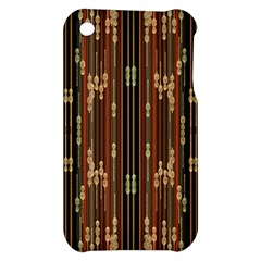 Floral Strings Pattern  Apple iPhone 3G/3GS Hardshell Case