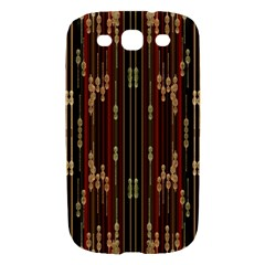 Floral Strings Pattern  Samsung Galaxy S III Hardshell Case