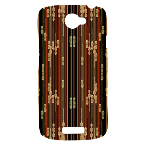 Floral Strings Pattern  HTC One S Hardshell Case