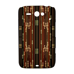 Floral Strings Pattern  HTC ChaCha / HTC Status Hardshell Case